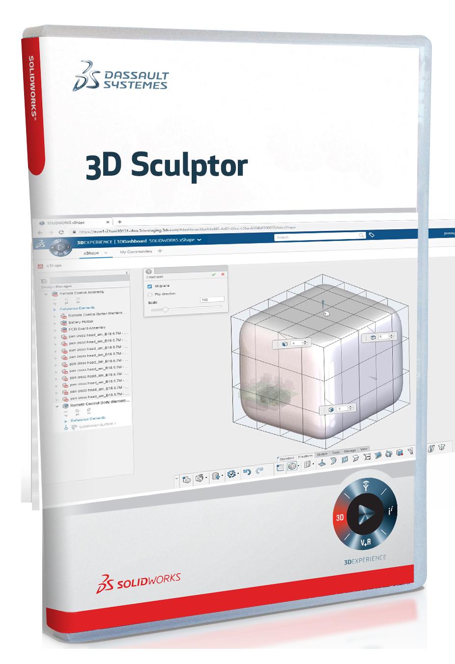 SolidWorksBox_3DSculptor
