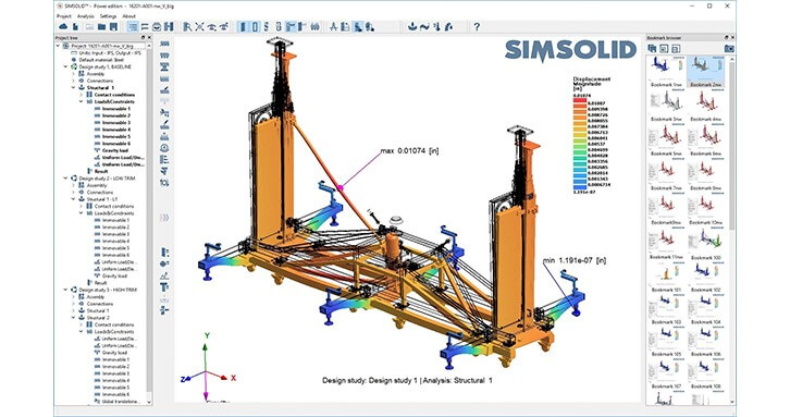 SimSolid Complex Assemby