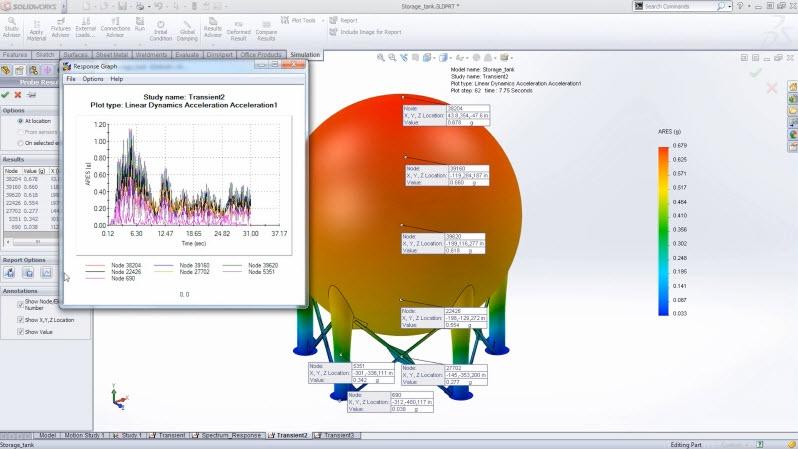 {id=25, name='SOLIDWORKS Simulation Premium Nonlinear & Dynamics Bundle'} Image
