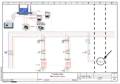 {id=14, name='SOLIDWORKS Electrical Panel - Schematic'} Image