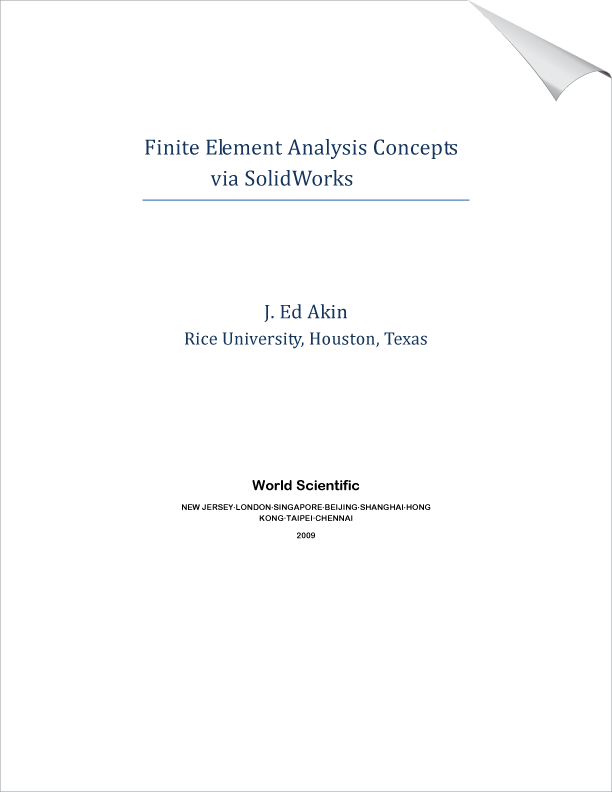 Finite Element Analysis Concepts via SolidWorks