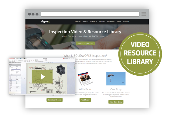 SOLIDWORKS Inspection Video & Resource Library