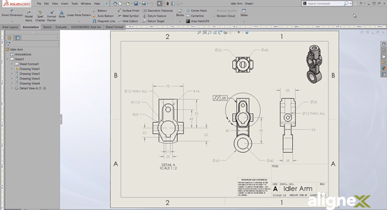 How to Customize Your Drawings with the Line Format Toolbar