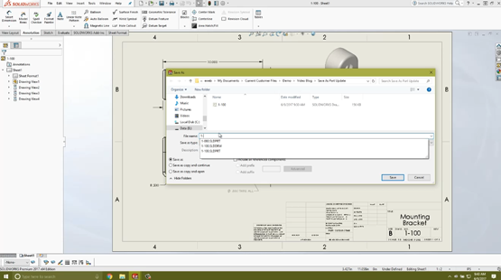 How to Copy a SOLIDWORKS Drawing for Multiple Projects