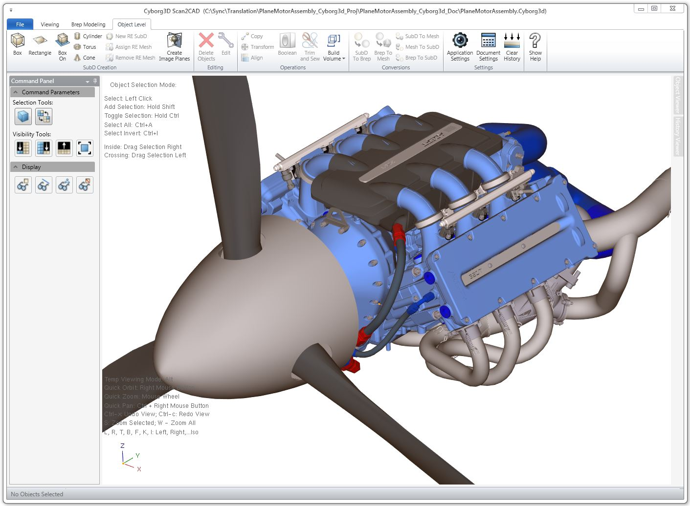 Cyborg3D 3D Modeling Software